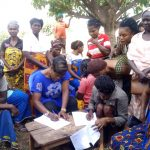 Women Focus Group discussion Ichakobe community-Ibilla ward Oju LGA, Benue state